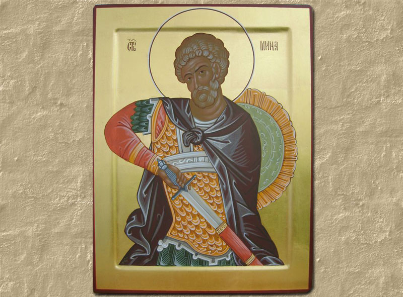 The Holy and Great Martyr Menas
